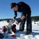 Schneeschuh-Tour gibt Durst