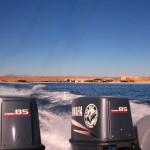 Ausfahrt mit dem Boot