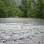 Fluss Loue bei der Gouron
